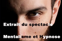 Spectacle Mentalisme et Hypnose
