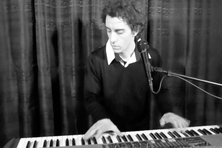 Au piano Michel BERGER