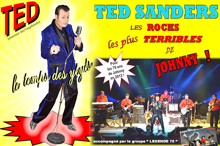 Ted Sanders chante Johnny